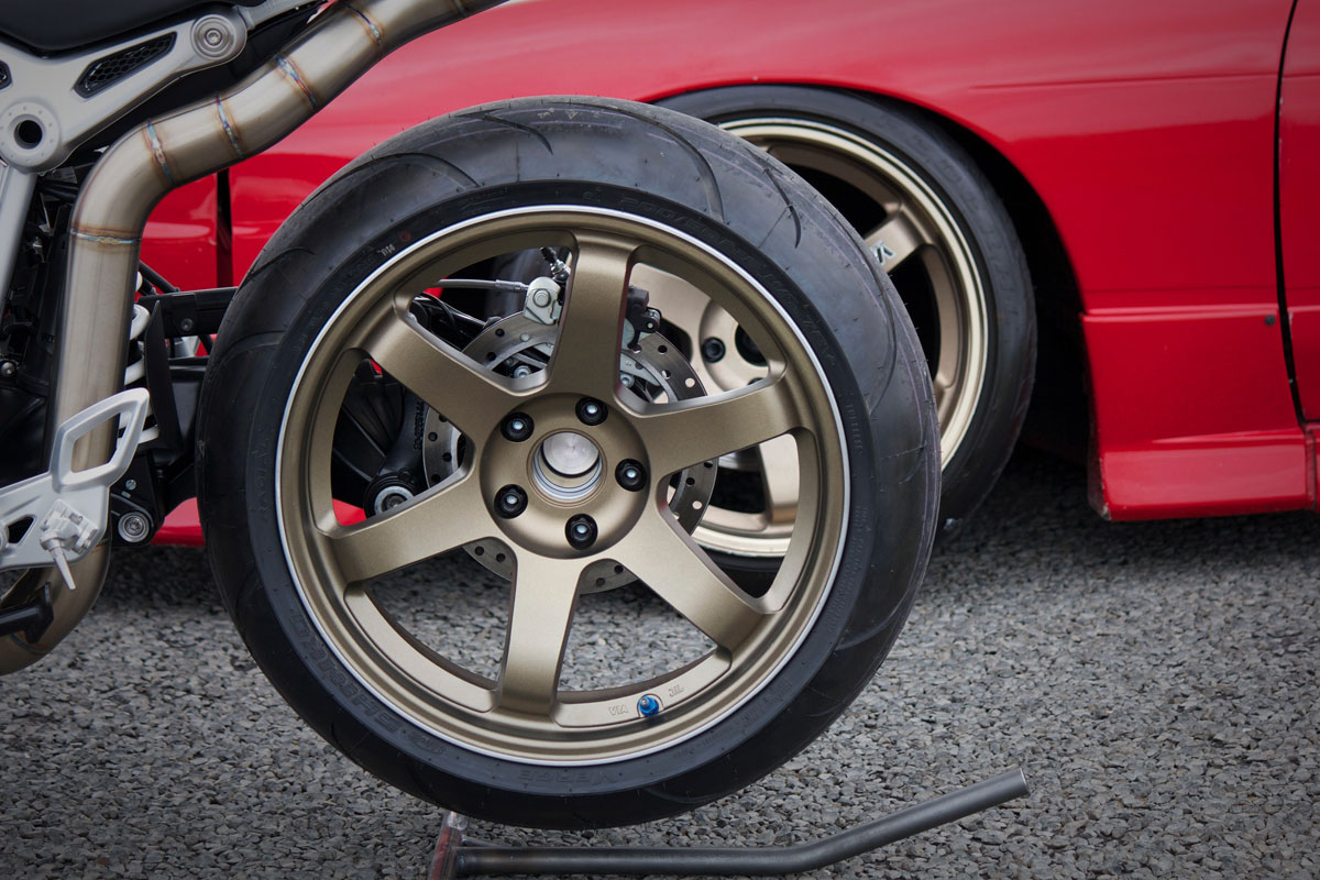Engineered to Slide BMW R Nine T
