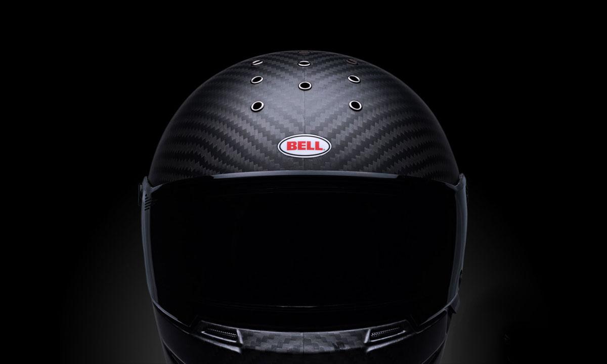 Bell Eliminator carbon fibre helmet