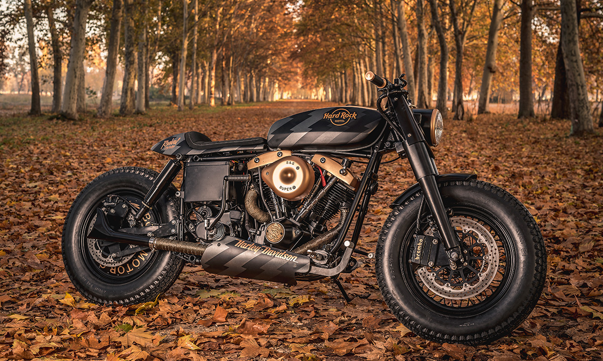 Hard Rock Harley Davidson Cafe Racer
