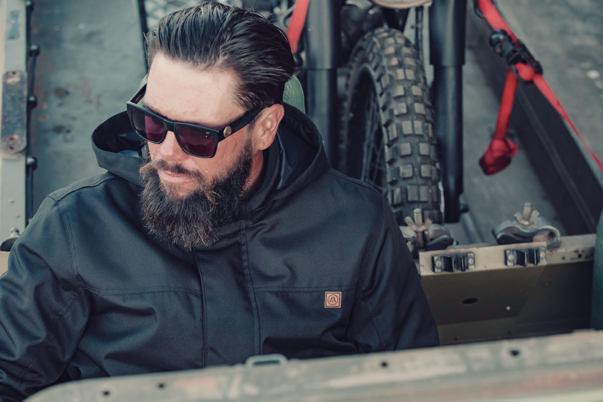 Akin Alpha 2 motorcycle jacket