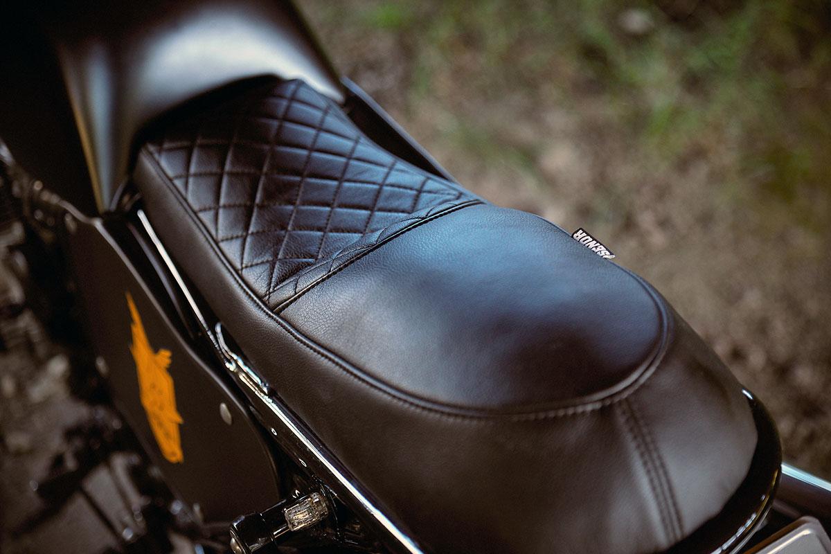 Honda CB750 mad max interceptor