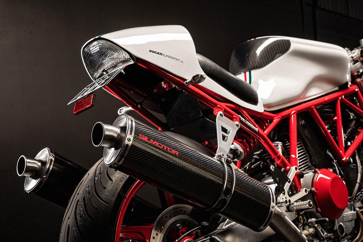 Ellaspede Ducati 900ss cafe racer