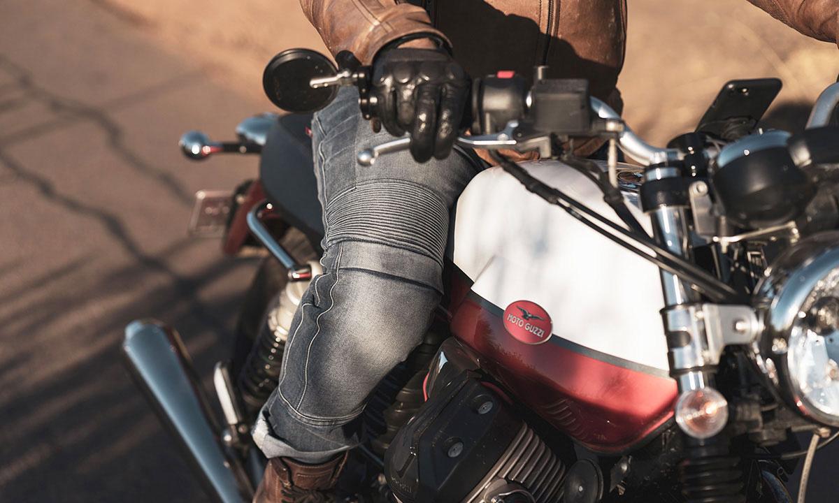 Pando Moto Karl Navy Jeans
