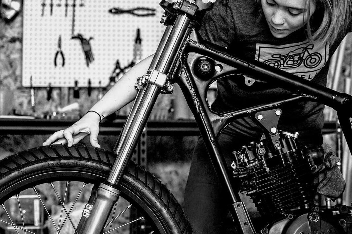 building a cafe racer with krank engineering