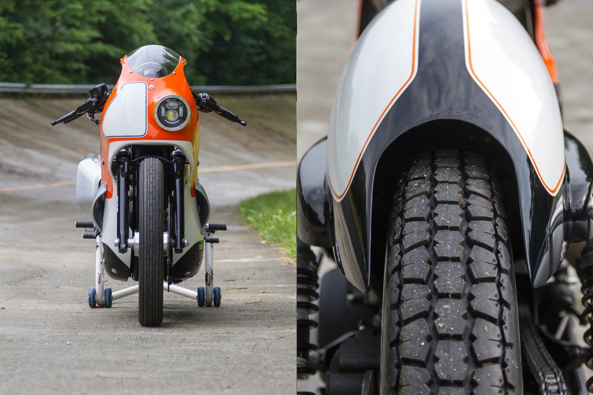 God Hammer Forty Eight Sportster Return Of The Cafe Racers