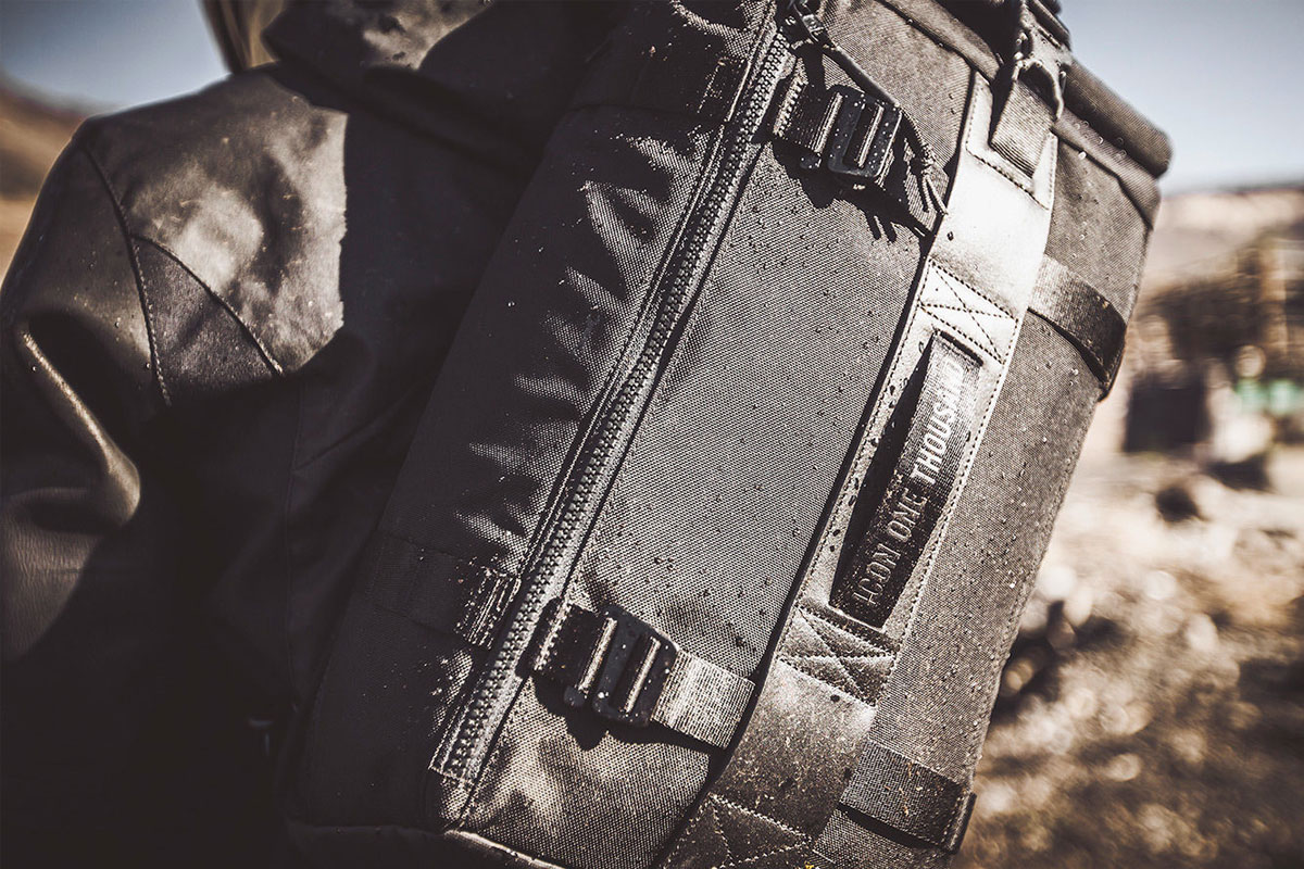 Icon 1000 motorcycle slingbag