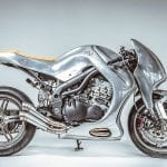 Triumph Speed Triple Made of Metal