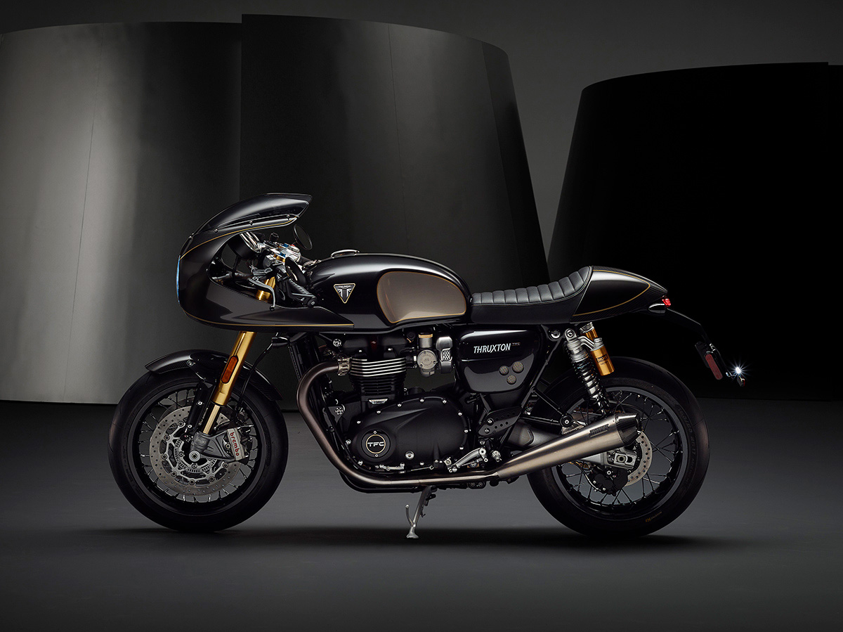 thruxton triumph factory custom