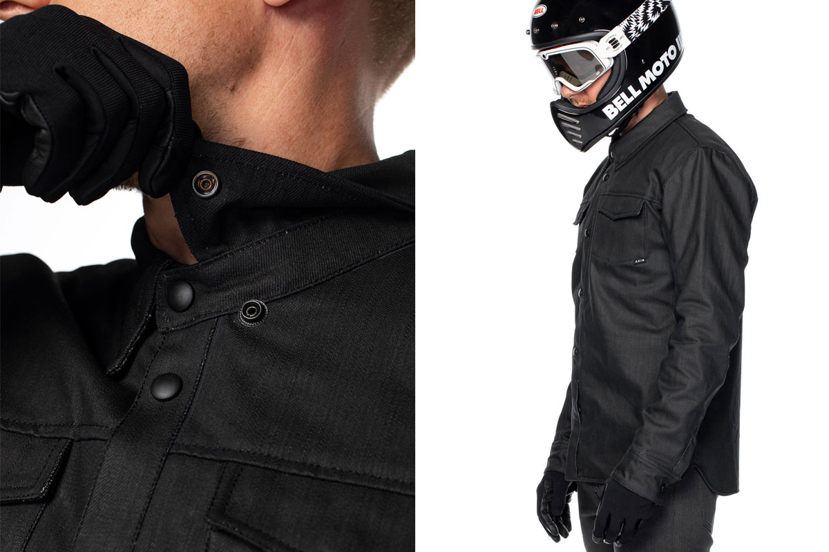 Akin armoured motorcycle shirt