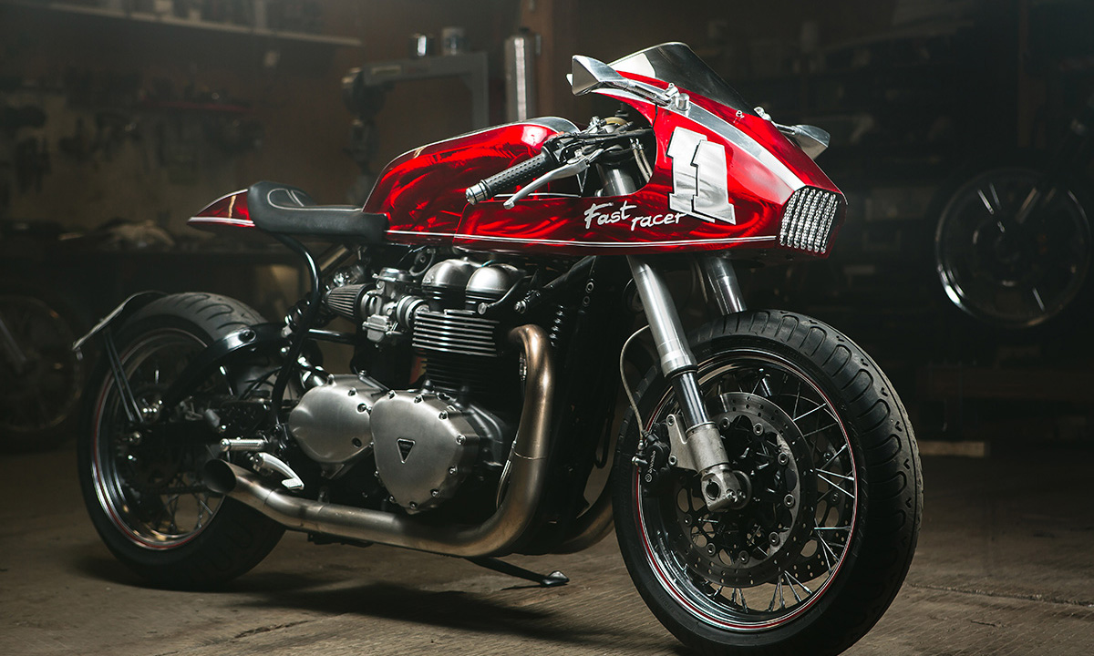 Custom Thruxton 900 TCD