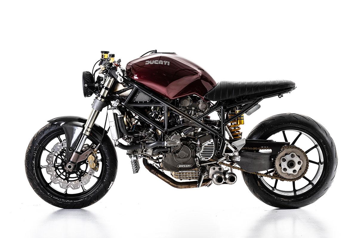 Barnbuilt Ducati 916 cafe racer
