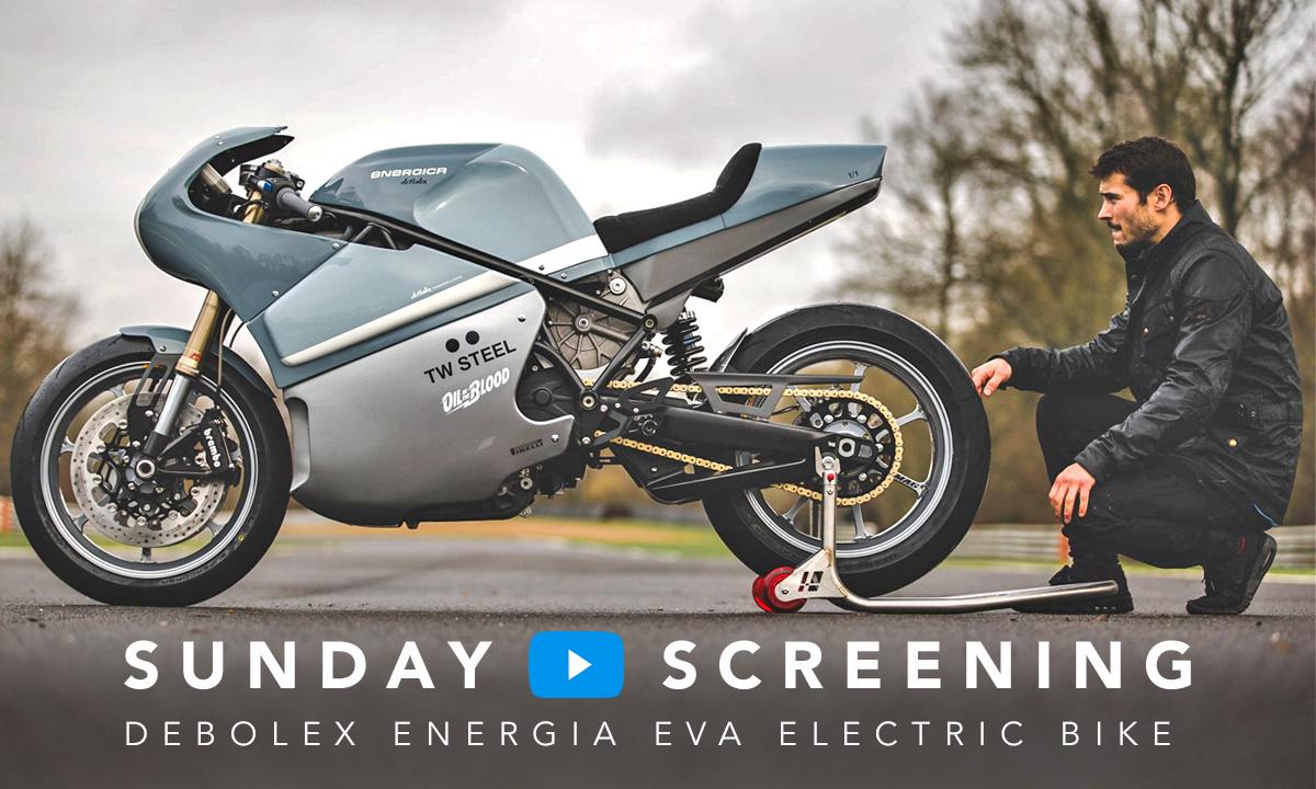 Debolex electric motorcycle