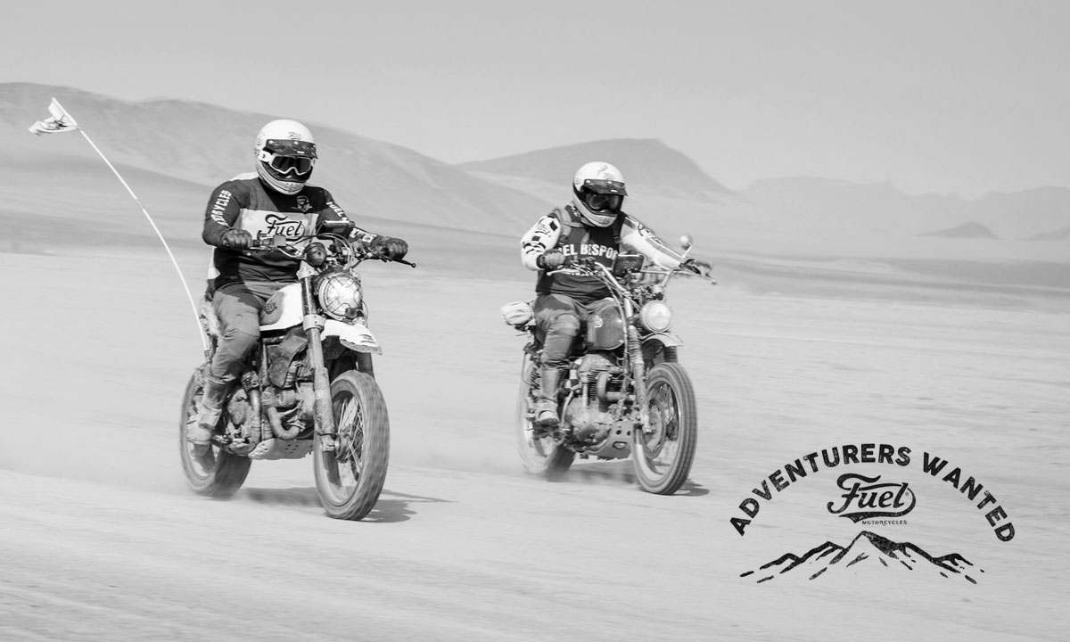 Fuel Motorcycles Adventurers Wanted