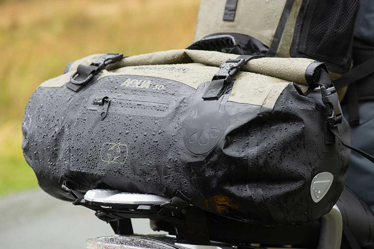 oxford aqua motorcycle luggage