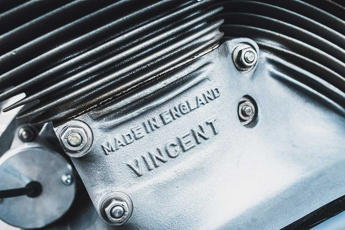 Vincent cafe racer