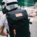 Angrylane Pacsafe Motorcycle Backpack