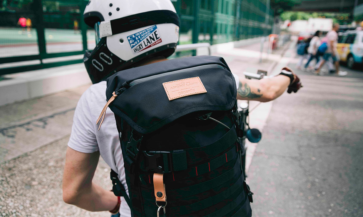 Angrylane Pacsafe Motorcycle Backpack