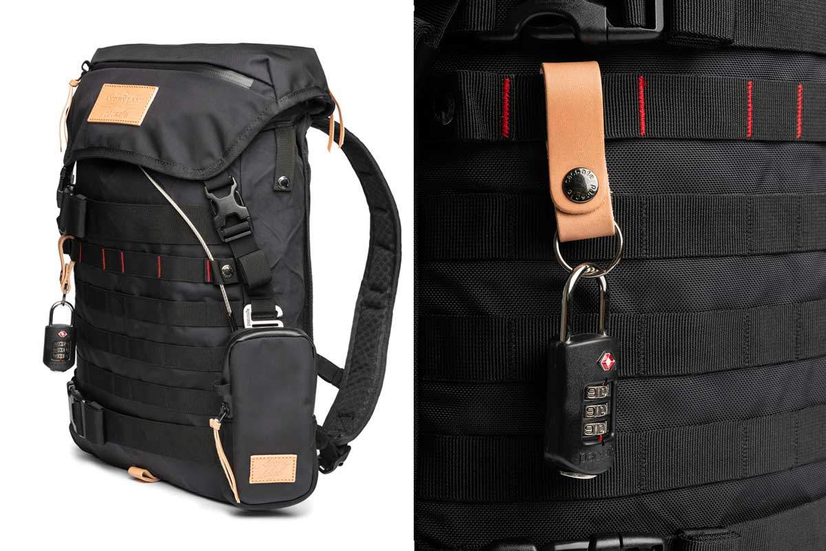 Pacsafe Motorcycle Backpack