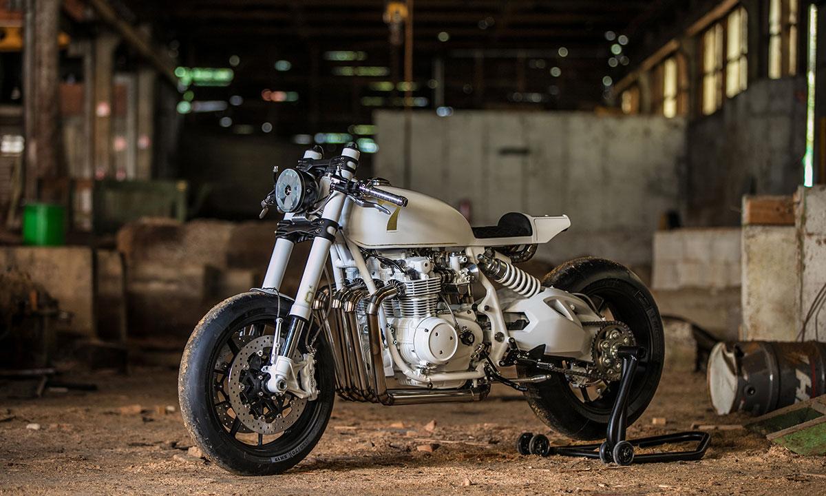 Duke motorcycles CB500 cafe racer