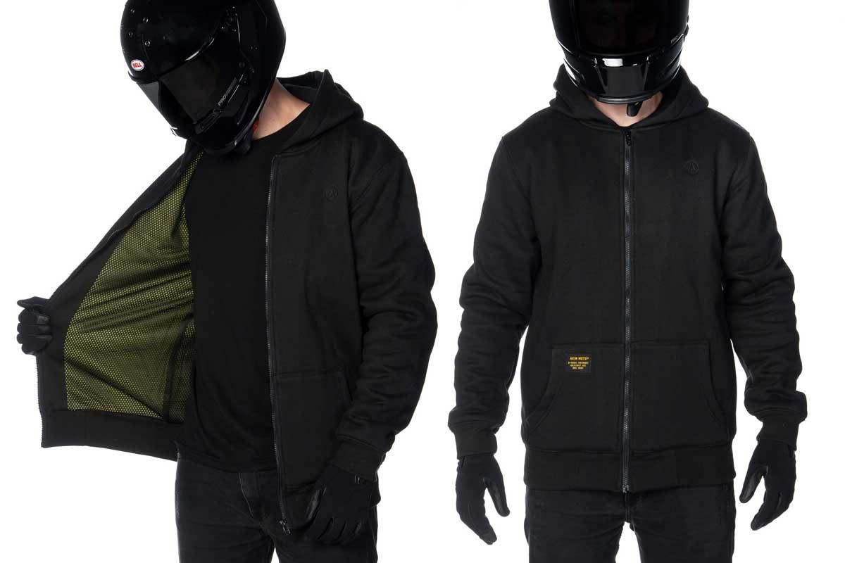 Akin motorcycle hoodie