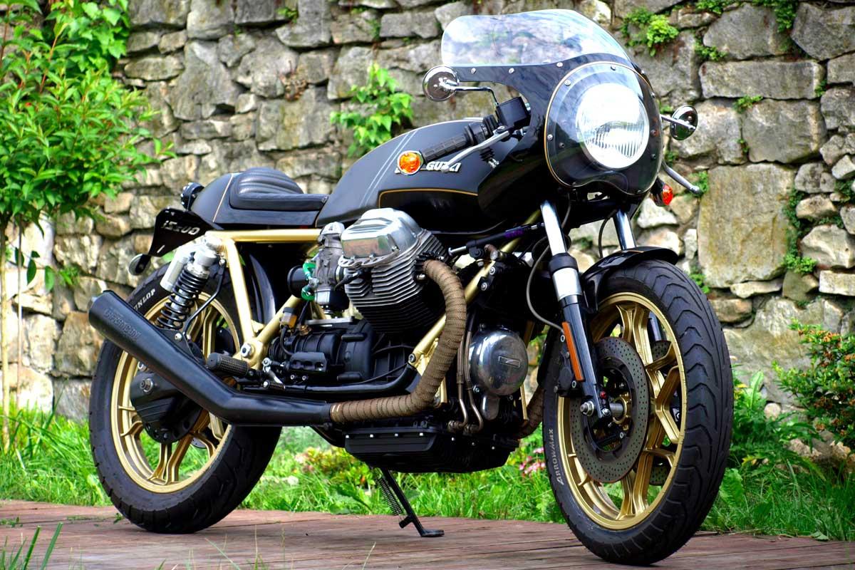 Moto Guzzi T3 cafe racer