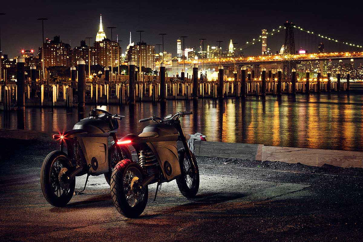 electric cafe racer