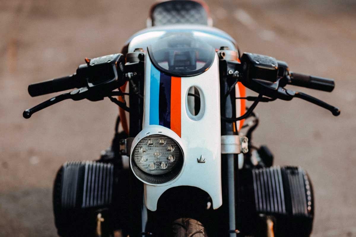 Lucky Customs BMW cafe racer