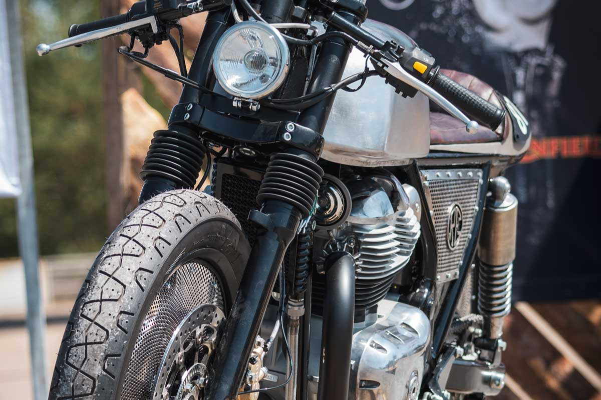 Wrench Off Royal Enfield 650 cafe racer