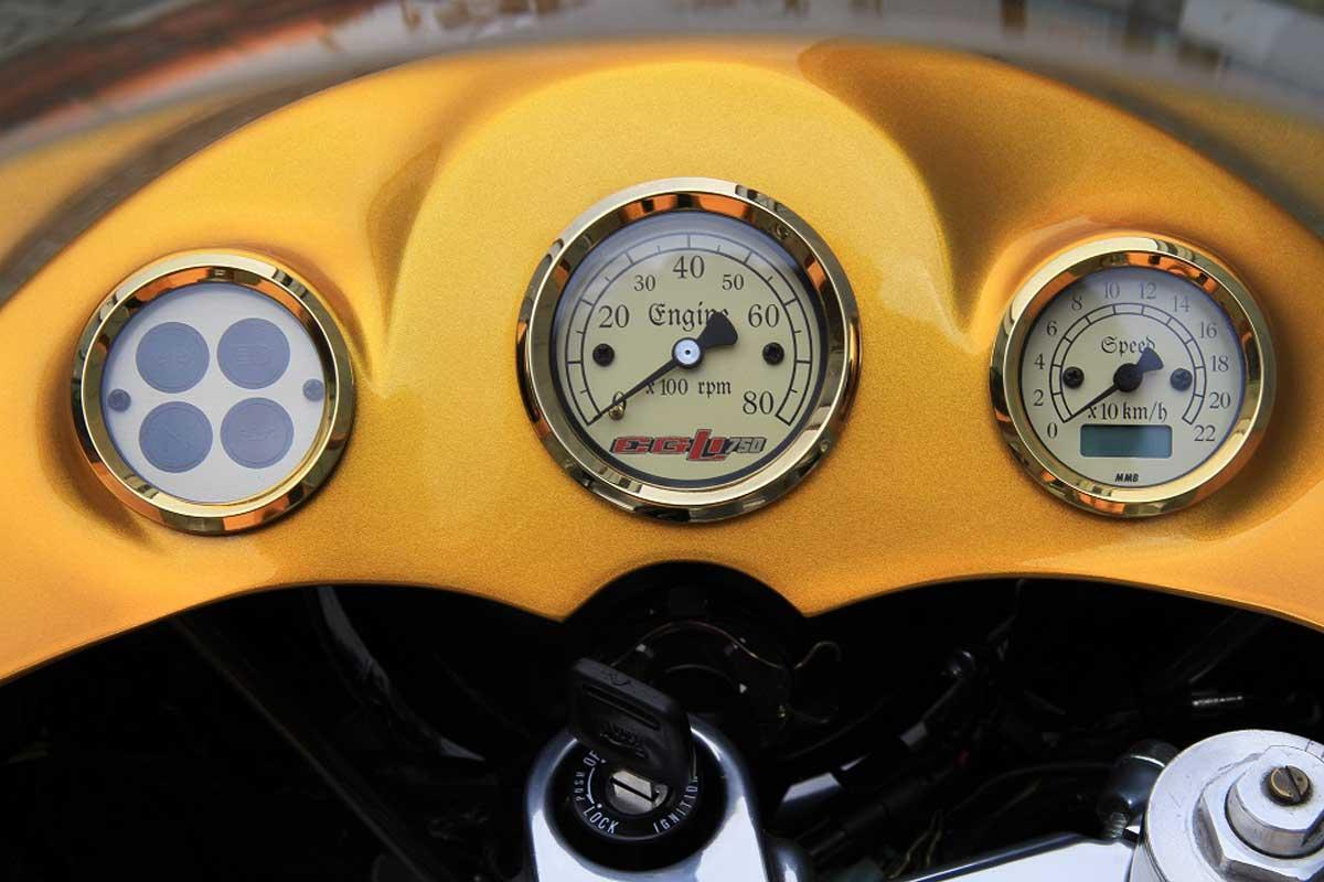 Suzuki GT750 cafe racer