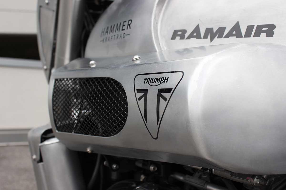 Hammer Kraftrad Triumph Rocket 3