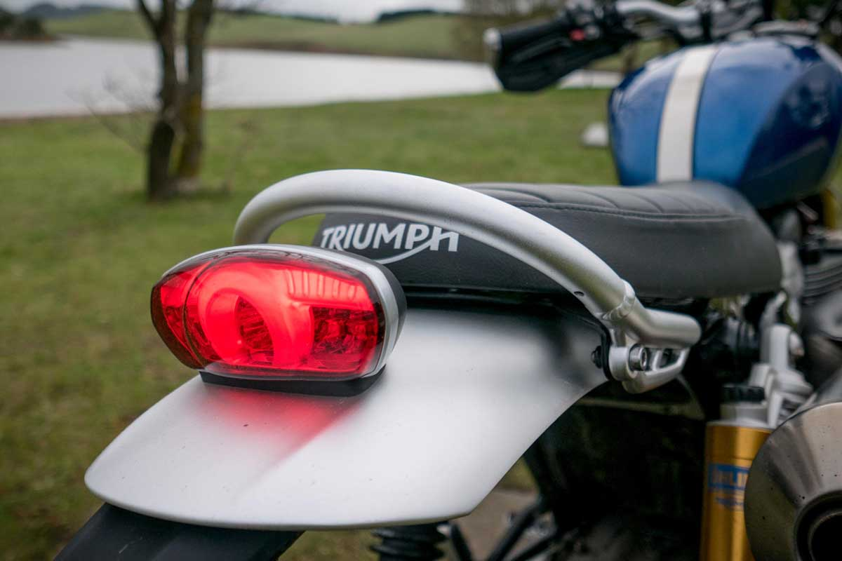 Triumph Scrambler features