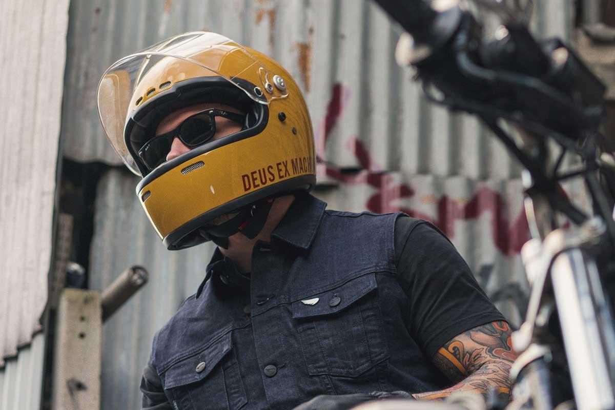 Deus Garcia Helmet