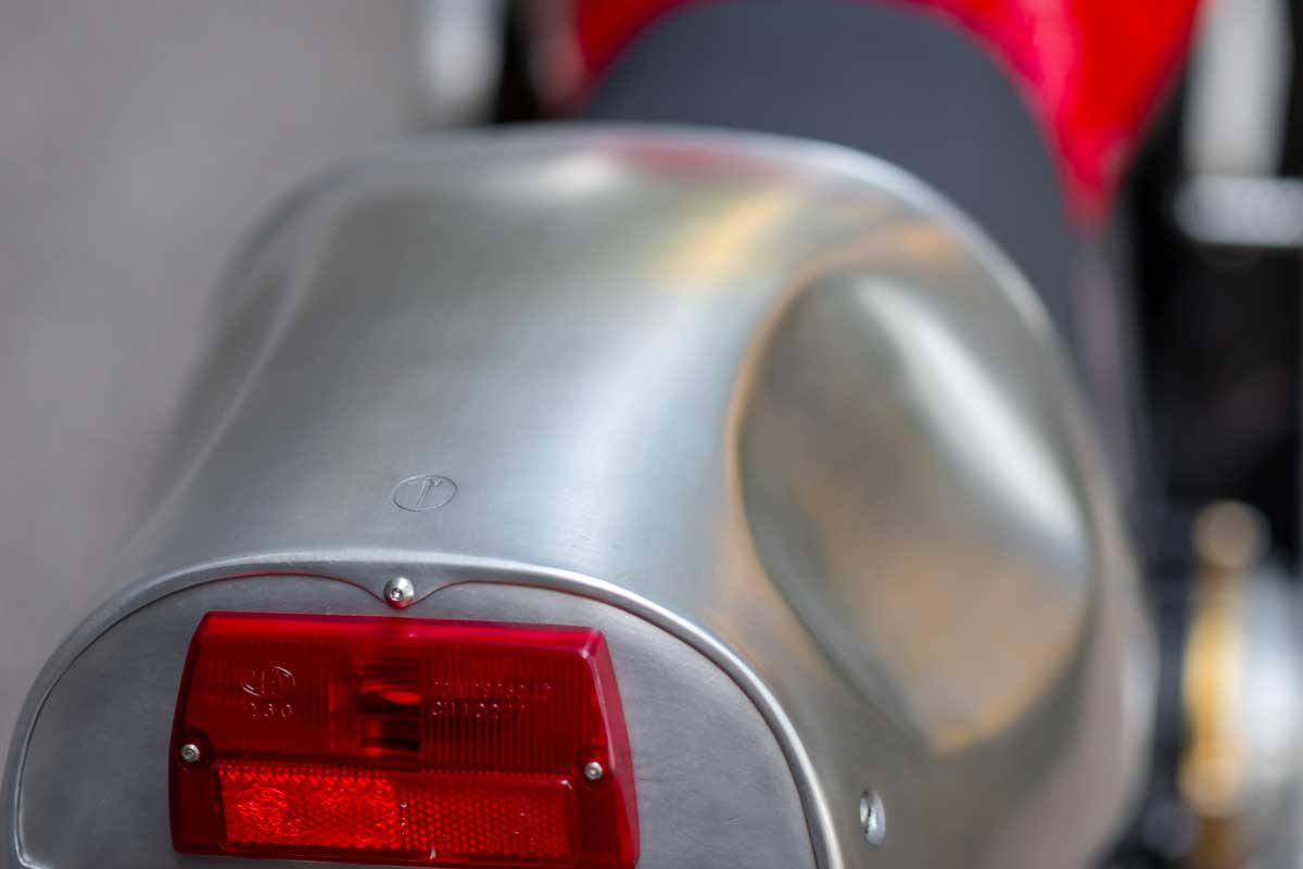 Ducati 900SS aluminium fairing