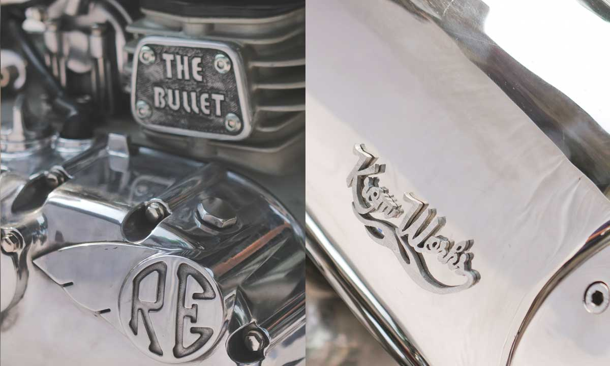 Custom Royal Enfield Bullet 500