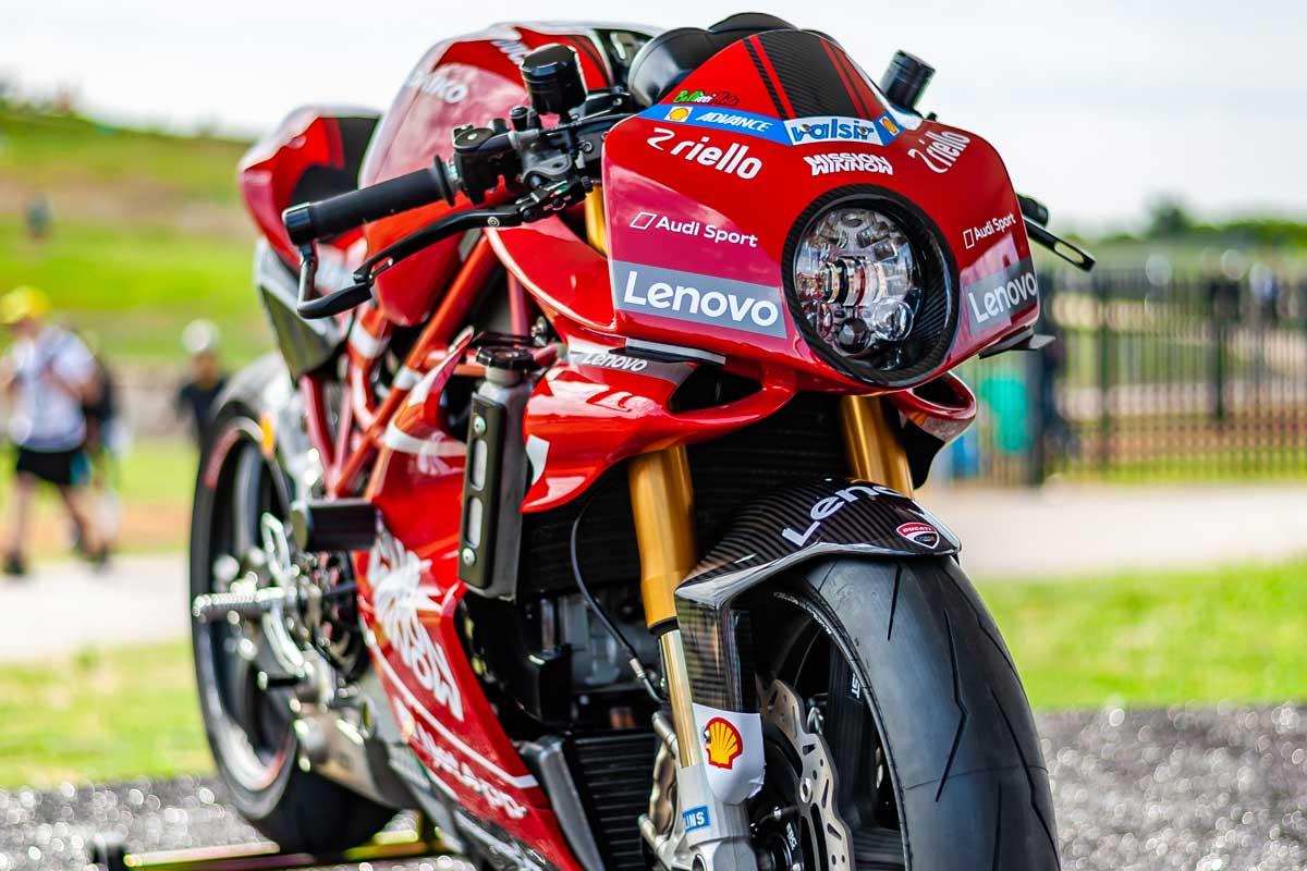 Ducati Monster ms4r custom