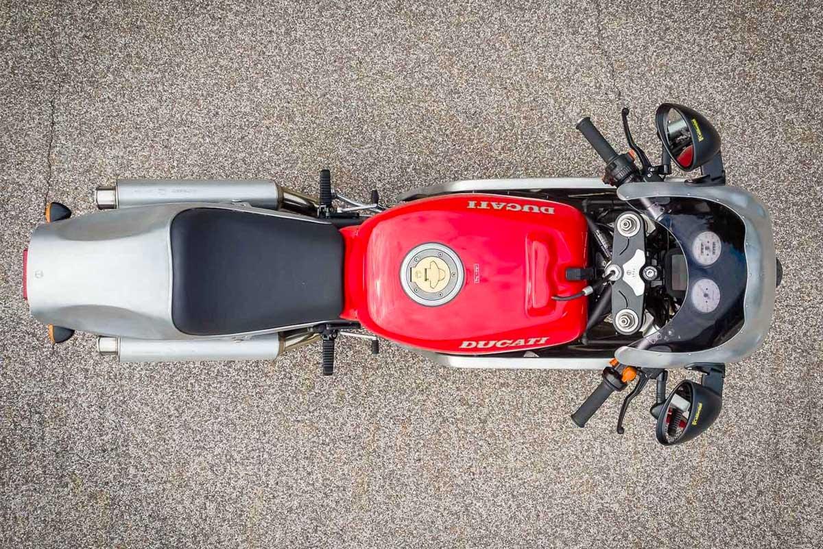 Ducati 900 Supersport cafe racer