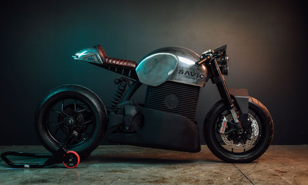 Savic Electric Motorcycle