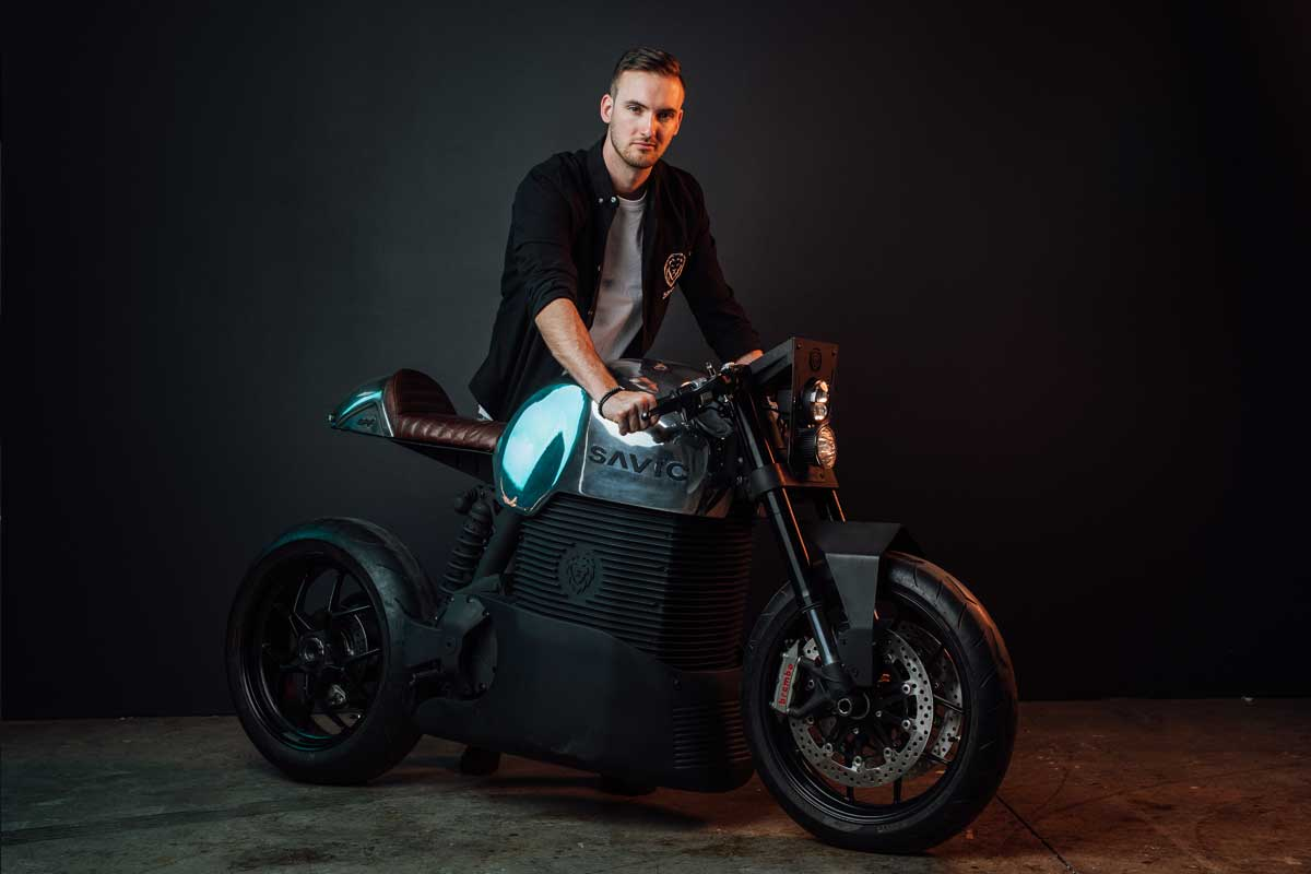 Dennis Savic Electric Motorcycle