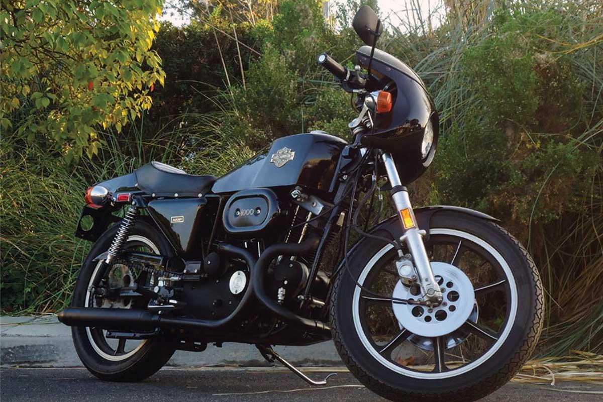 Harley Davidson XLCR factory custom