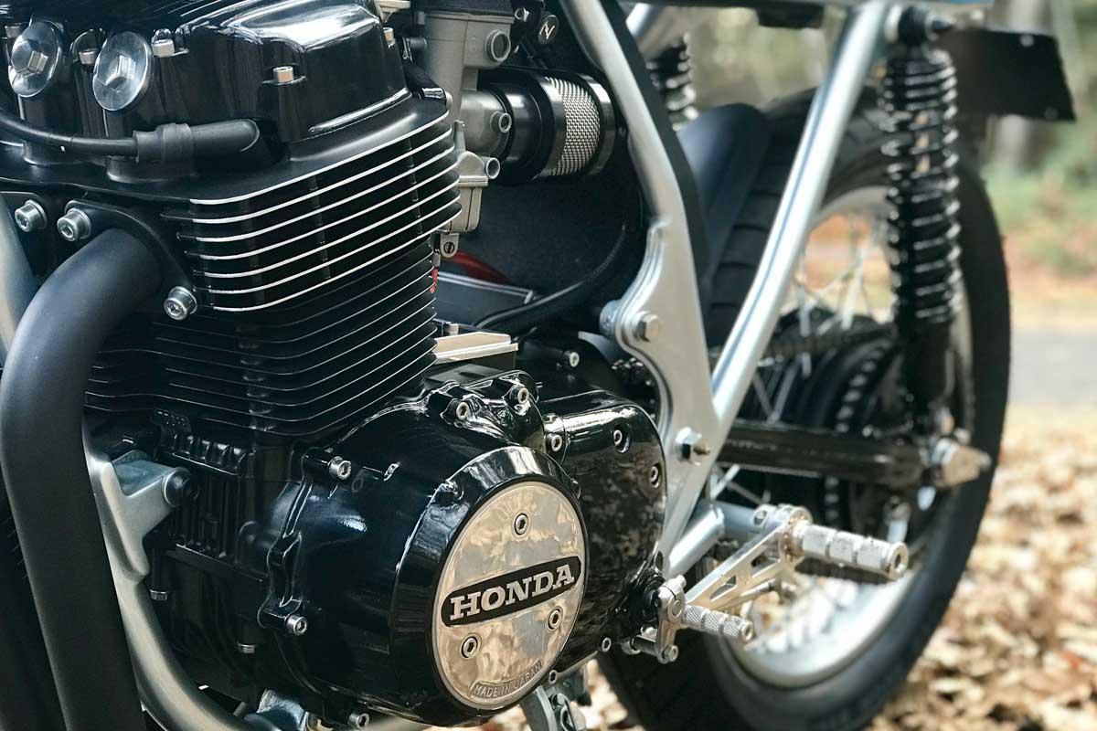 Steven Wilson Honda CB750