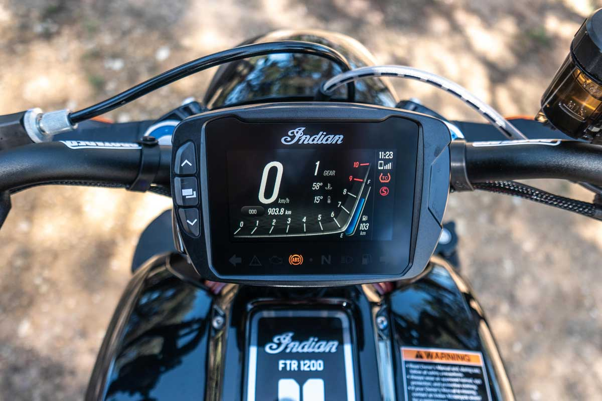 Indian FTR 1200 ride review