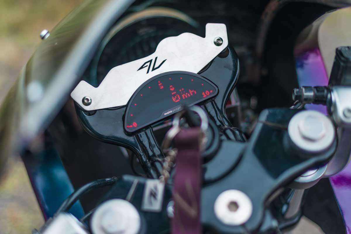 Royal Enfield GT650 cafe racer