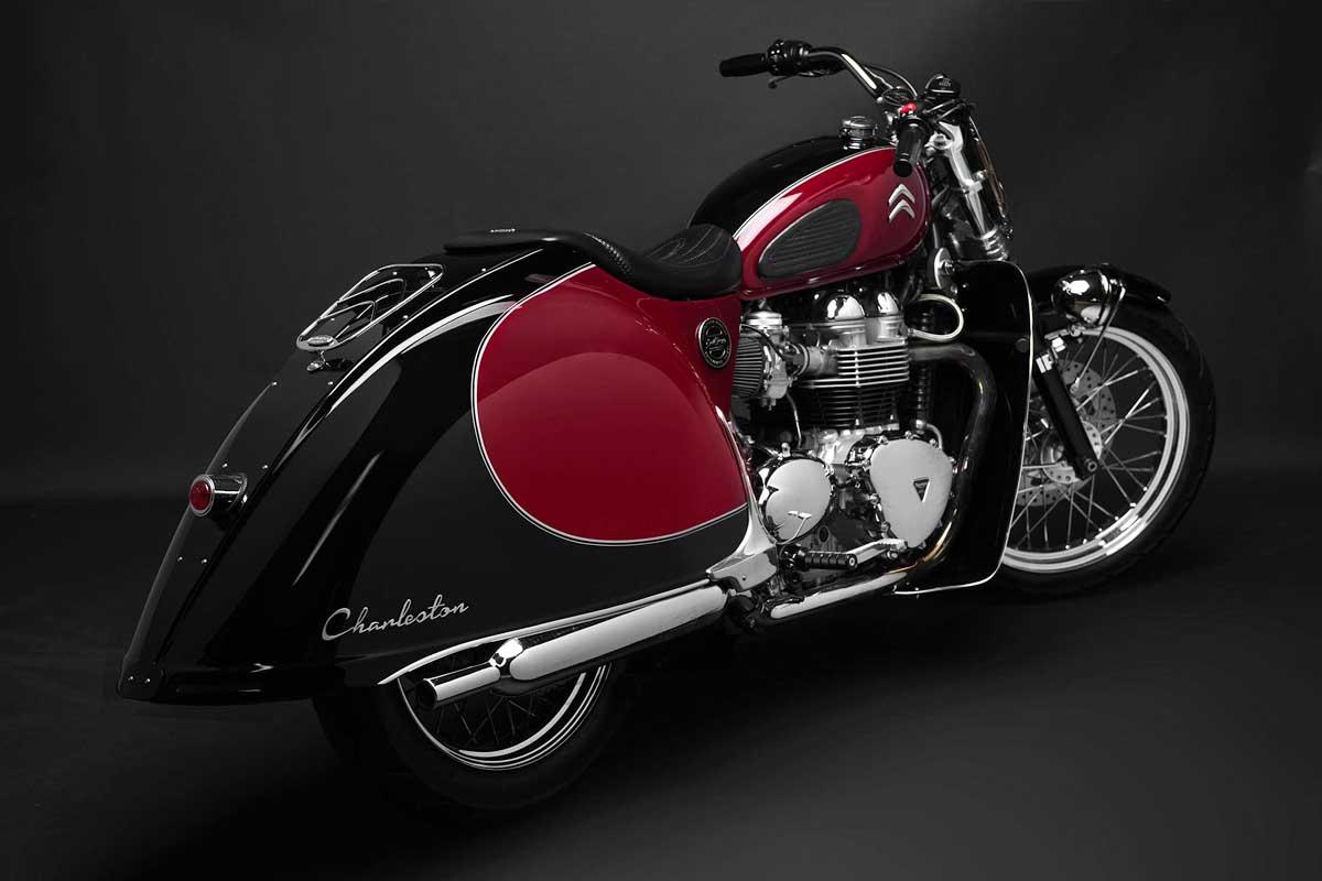 South Garage Triumph Bonneville 2CV