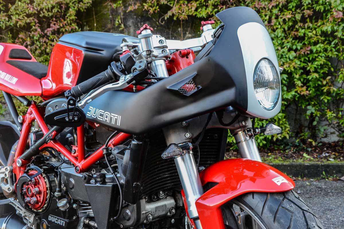 Ducati 999 cafe racer