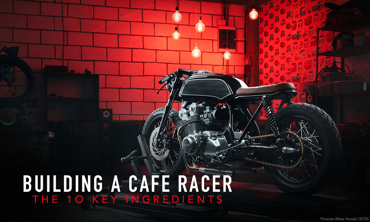 Building a cafe racer