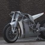 custom electric Zero motorcycle