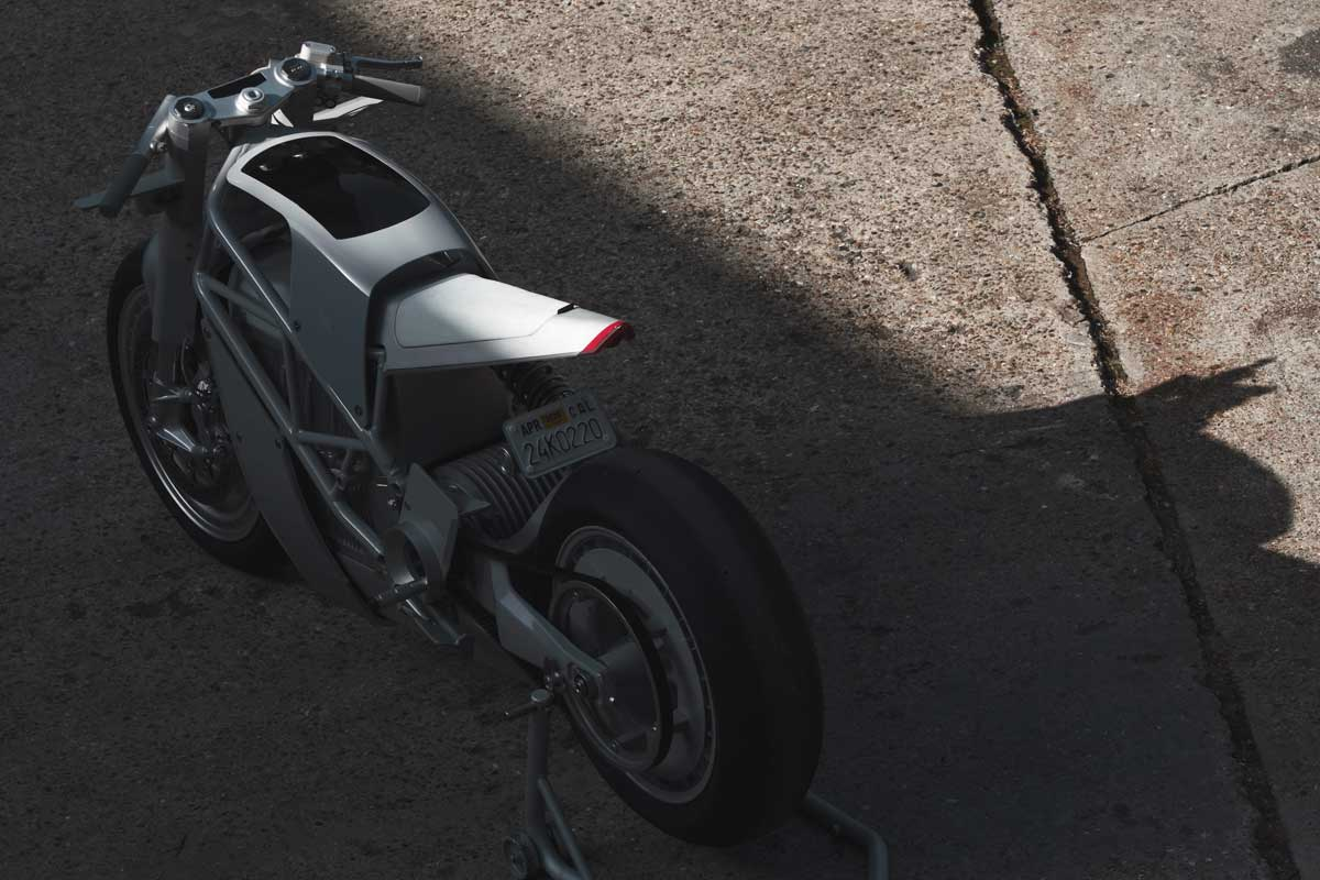 Zero motorcycles Hugo Eccles