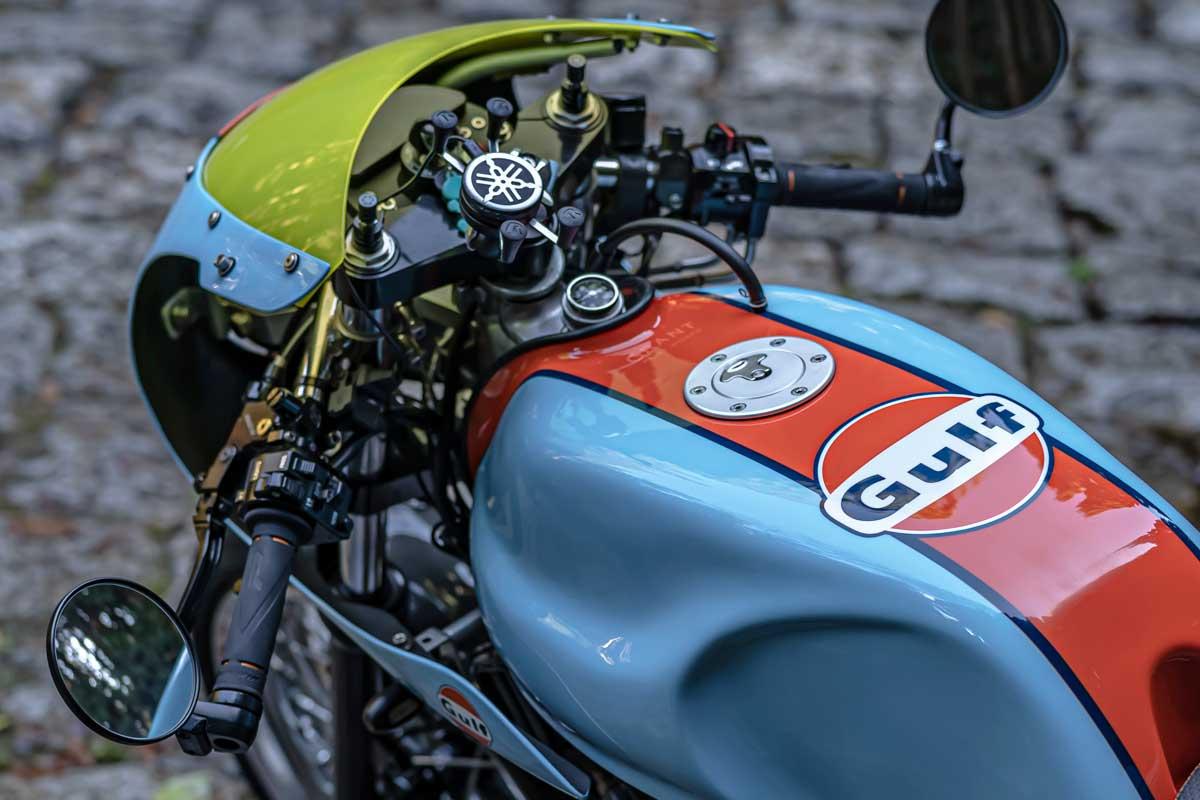 Yamaha SR500 Gulf Racer