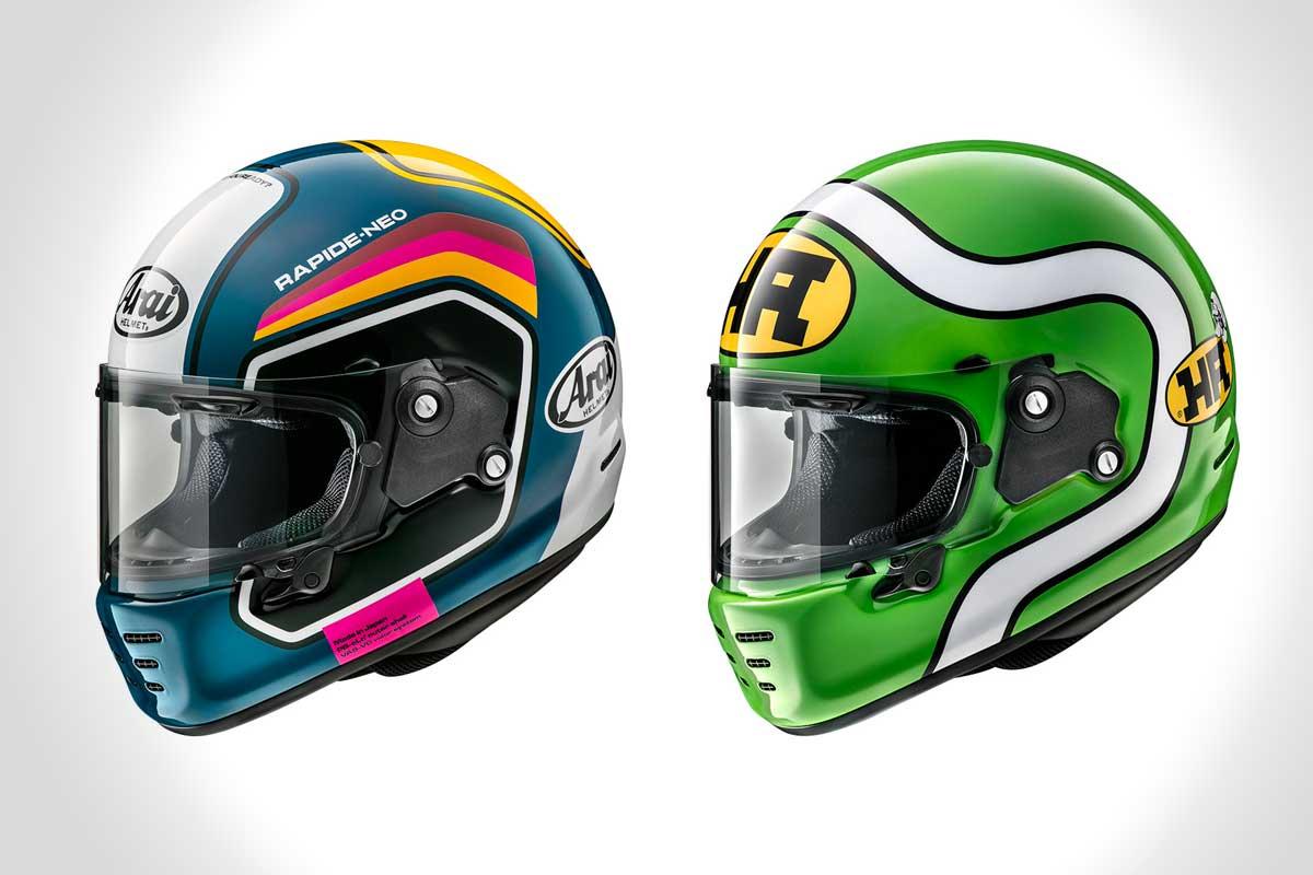 Arai Rapide Neo motorcycle helmet