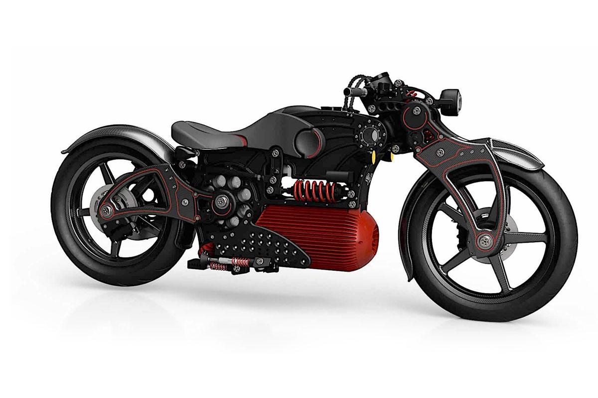 Curtis Hades Electric Moto